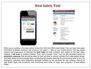 Heat Stress App
