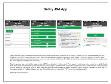 JSA app